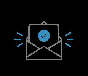 Checke Deine E-Mails und bestätige Deine Teilnahme. Nicht da? Schau auch in Deinen Spam-Ordner.