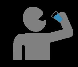 Tag 10 – 30: Ab jetzt beginnt Deine persönliche Trink-Challenge aus der Praxis für die Praxis.